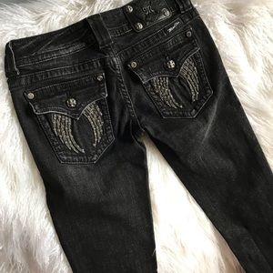 Miss Me Jeans - Buckle Miss Me Jeans. Black